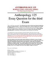 anth practice 7 exam essay