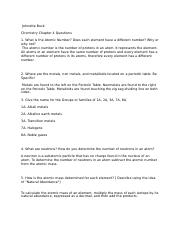 Chemistry Chapter 4 Questions.docx