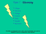 Electricity Practical