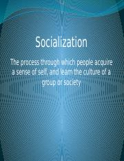 Lecture5-Socialization-PowerPoint