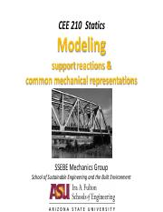 CEE210 Notes 01B-Modeling and Support Reactions.pdf