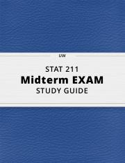 STAT 211- Midterm Exam Guide - Comprehensive Notes for the exam ( 23 pages long!).pdf