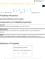 PSTATW 120A - M16: Probability Introduction: Important Definitions and Concepts.pdf