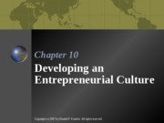ENTR 3312 - Chapter 10