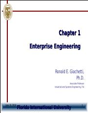 Chapter1-EnterpriseEngineering