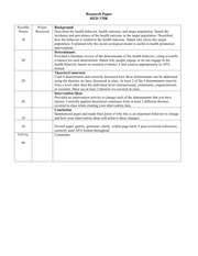 Research Paper Paper rubric for grading