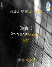 Chapter5 Sequential Logic
