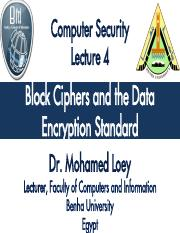 Computer Security-Lecture4