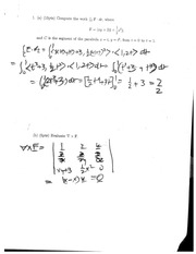 Multivariable Calculus Exam 2