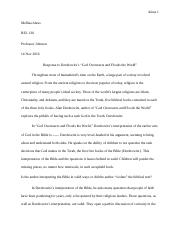 REL130 Johnson Essay 2