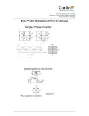 Lecture 3-4  PWM switching theory