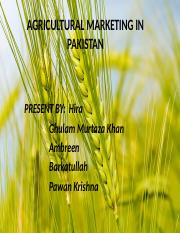 agriculture issues in pakistan