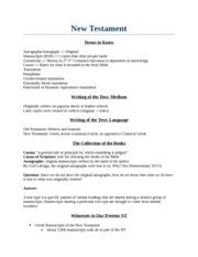 BIBL 104 Study Guide Week 6 - Vicki - Study Questions(CH 26 1 Who ...