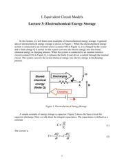 10.462 Electrochemical Energy Storage Notes