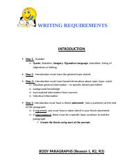 Writing Requirements CB.doc