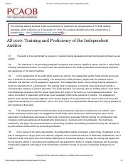 AS 1010_ Training and Proficiency of the Independent Auditor.pdf