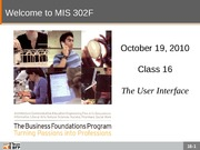 F10-Class-16-The User Interface (2)