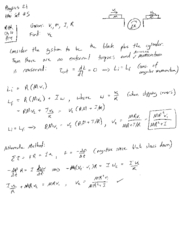 Phys21(W09)HW5 Solutions