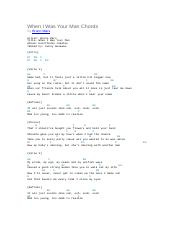 When I Was Your Man Chords.docx