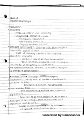 Heuristic Notes