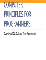 CPR101_Week8_CLI and GUI, and Time Management.pptx