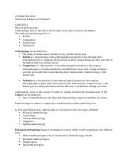 Ch 1 & 2 Notes