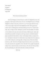 the glass menagerie essay