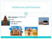Architecture and Functions