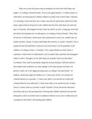 term paper on child abuse