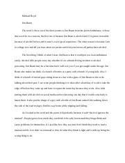 essay on between the world and me