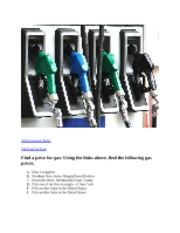 9.  The Price at the Pump