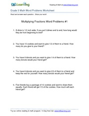 multiplying-fractions-word-problems-1-AnswersGr5 - Answer: 6/1 x 2 ...