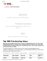 Activity-Top 100 Charity Fundraising Ideas.pdf