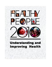 PUBH 1515 Healthy People 2010