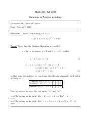 solutions(diophantine)-math221-2016