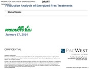 Air Products Energized Frac Status Update 0117 v8 20140116