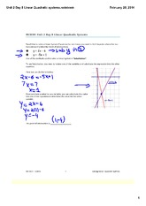 Linear Quadratic systems