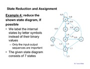 Lecture 9_State Reduction and Assignment