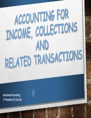 Accounting for Income
