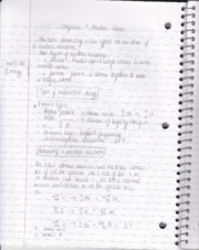 Organic and nuclear chemistry notes