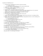 Vocabulary Quiz TKAM Chapter 4-5 answers
