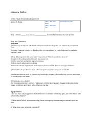 bus 105- Interview guidline -Caresa