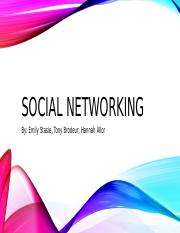 social networking powerpoint  - Copy