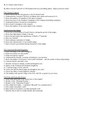 Bible Exam 2 Study Guide.doc