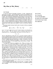 Feynman Physics Lectures V2 Ch41 1963-04-08 Viscous Flow