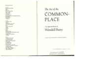 The Art of Common Place - Berry