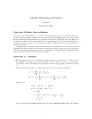 Answers week 6
