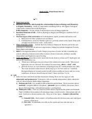 Study Guide  for Final exam (Part A).docx