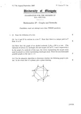 Questions for Maths 2P Sample Degree Exam(2)