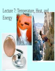 lecture 7 temperature, heat, and energy.ppt